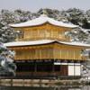 雪が降ったから雪の「金閣寺」を撮影しに行ったよ!凄い神秘的だったぞ