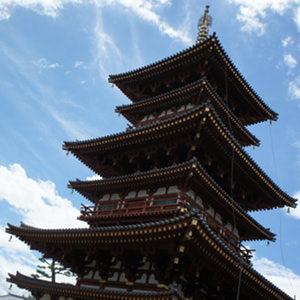 奈良の旅リターンズ[前編]だぞ!まずは2つの塔がある「薬師寺」へ行ってきたのだ