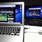Macの画面をテレビに表示させてみる