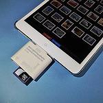 iPad miniで使用するためにLightning端子のマルチカードリーダーを購入してみた