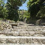 城の風景:織田信長が築城した幻の城があった安土城跡へ行ったきたぞ!