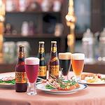 紫色したさつま芋のビールが珍しい!飲んだらなかなか良かったよ!