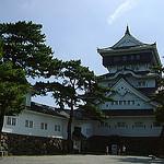 城の風景:1998年に福岡の「小倉城」を訪れた