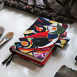 手帳:岡本太郎の絵をカバーにしたほぼ日手帳2014「TARO/建設」を注文したぞ