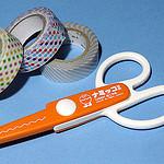 手帳で使うマスキングテープは綺麗に切りたい!工作はさみ「ナミッコII」を買って切り口がいい感じだ