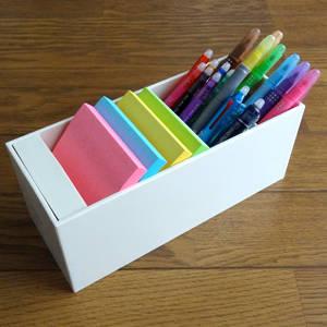 スマステで紹介されていた文具「ツールスタンド」買ってみた!これはペンが取り出しやすくていいわ