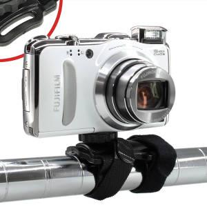 旅先でレンタサイクルにデジカメを固定して動画を記録!このマウントホルダーいいんじゃねぇ?