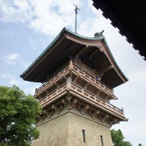夏に特別公開されている銅閣寺こと「大雲院 祇園閣」に行って登ってきた!東山を一望できて絶景だぞ