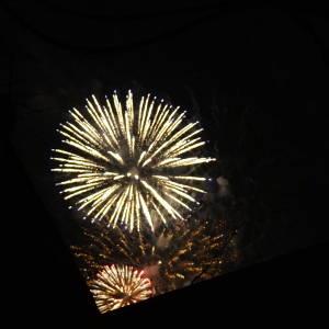 いきなり花火が打ち上がりビビる!五山の送り火で夏の終わりを感じさせる