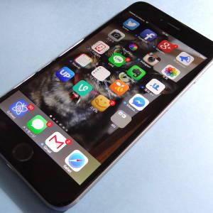 「iPhone 6 Plus」を朝一番でゲット!大きいけど薄くていい感じ!
