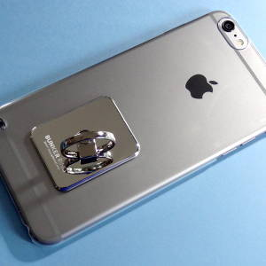iPhone 6 Plusの落下防止に!バンカーリングで快適操作だぞ!
