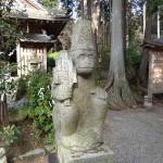 京都観光2015-1:紅葉の名所である「猿丸神社」に行ってきたぞ!ここは狛犬ではなく猿の像が鎮座しているのです