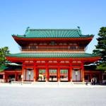 京都観光2015-10:オリジナル御朱印帳をゲットすべく「平安神宮」を訪れる!四神が描かれた御朱印帳が素敵なのです