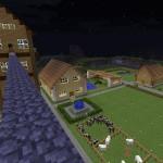マイクラ:村を作り始め1週間ほど砂漠を求めて旅に出たらピラミッドを発見!