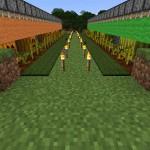新しい方式のカボチャとスイカの自動収穫機を導入し効率を高める【マインクラフト #031】