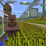 マイクラ:メインの拠点に戻り日常生活を取り戻す!村人に種植をしてもらう収穫機を作ったぜ