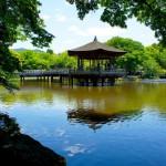 東大寺の南にある「浮見堂」を訪れる:奈良観光2015-3