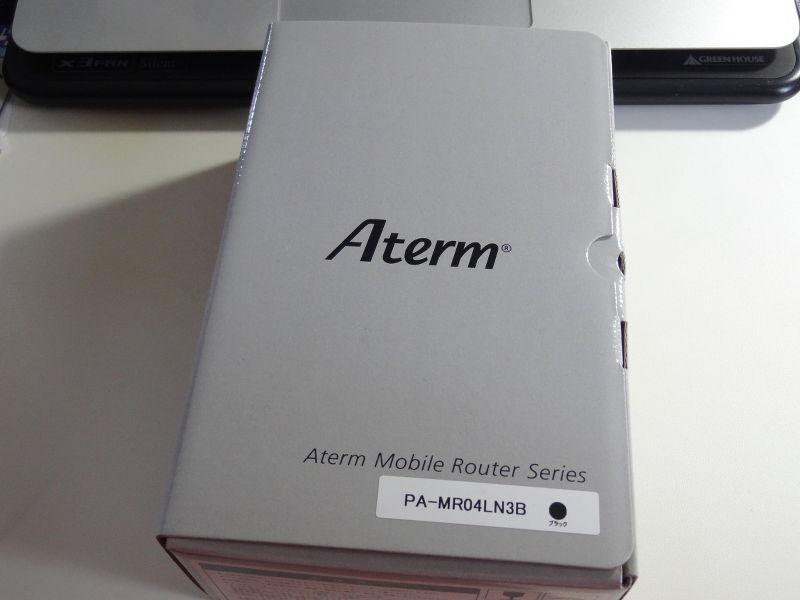 ルーター NEC Aterm MR04LN