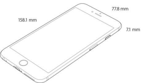 iPhone 6 Plus(寸法)