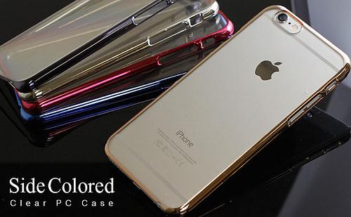 iPhone 6 ケース クリア サイドカラード