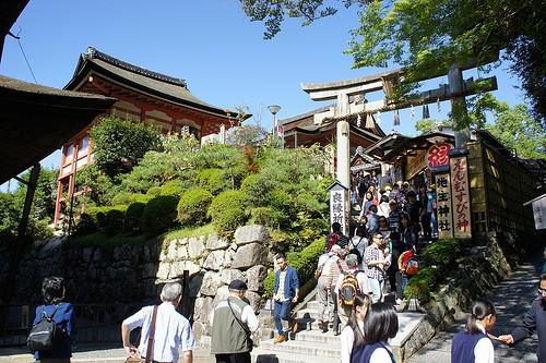 京都 地主神社 鳥居