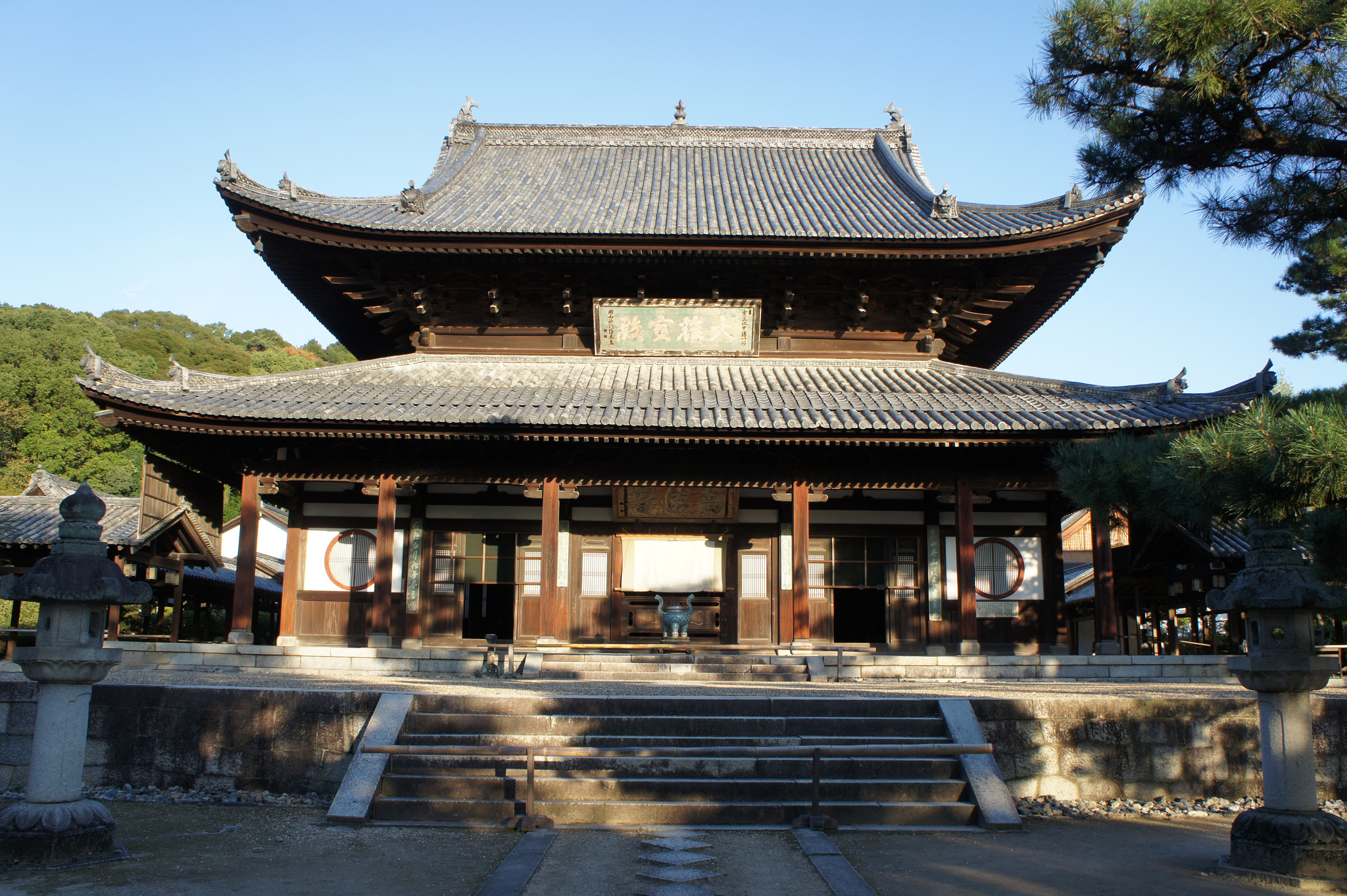 大雄寶殿/黄檗山萬福寺(Manpuku-ji Temple)
