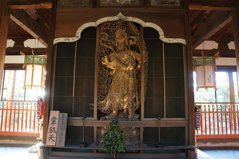韋駄天/黄檗山萬福寺(Manpuku-ji Temple)