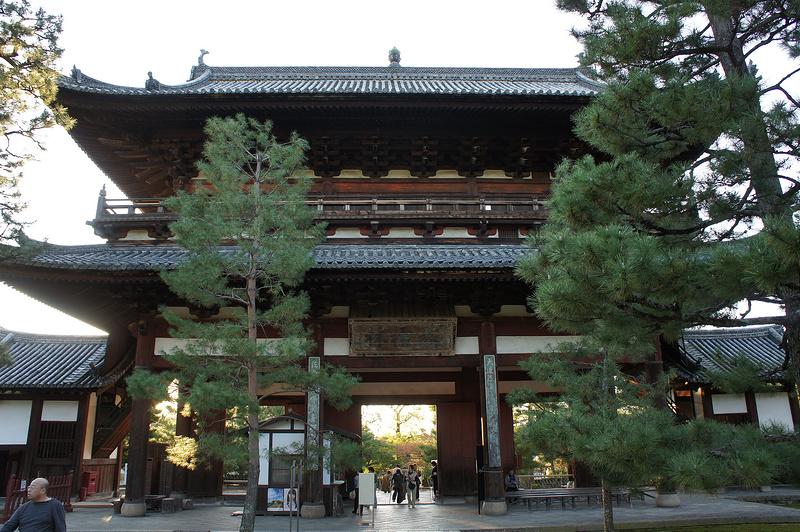 三門(裏)/黄檗山萬福寺(Manpuku-ji Temple)