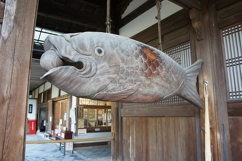 斎堂にある魚梆(かいぱん)/黄檗山萬福寺(Manpuku-ji Temple)
