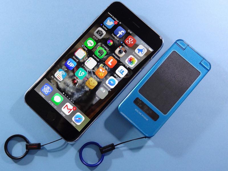 iPhone 6 Plus(SoftBank) / SHARP SH007(au)