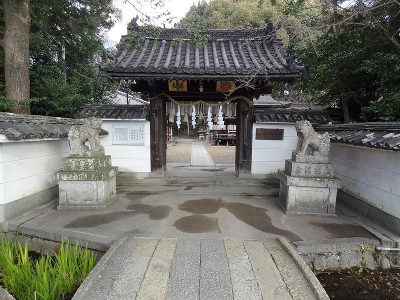 荒見神社(Arami-jinja Shrine) / 薬医門