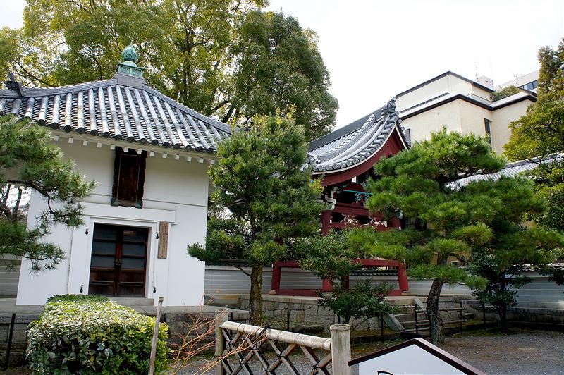 経蔵・鐘楼/本法寺(Honpo-ji Temple / Kyoto City)