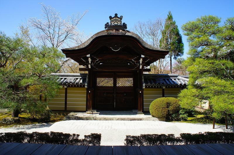 釈迦堂から見る唐門/永観堂 禅林寺(Eikando, Zenrin-ji Temple / Kyoto City) 2015/04/02