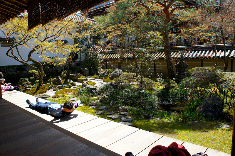 釈迦堂の庭園/永観堂 禅林寺(Eikando, Zenrin-ji Temple / Kyoto City) 2015/04/02