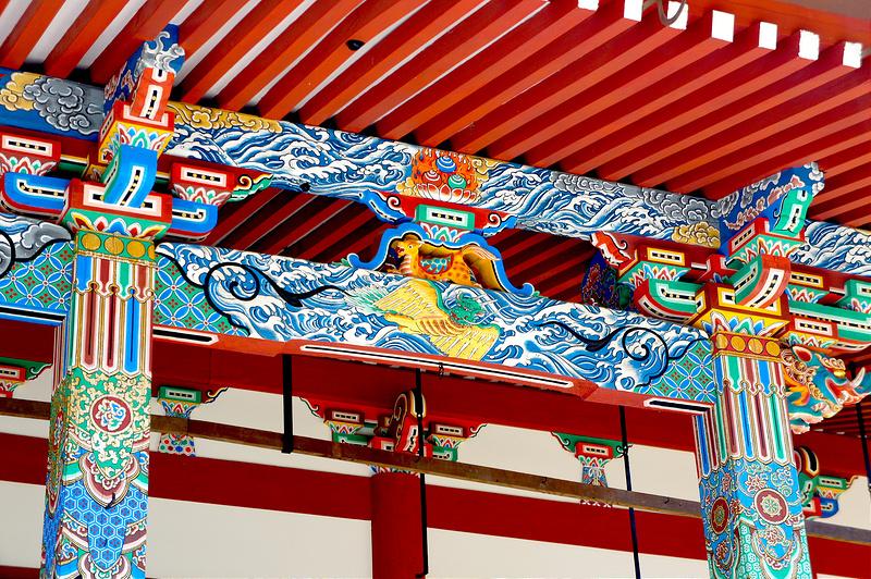 阿弥陀堂(本堂)の装飾/永観堂 禅林寺(Eikando, Zenrin-ji Temple / Kyoto City) 2015/04/02