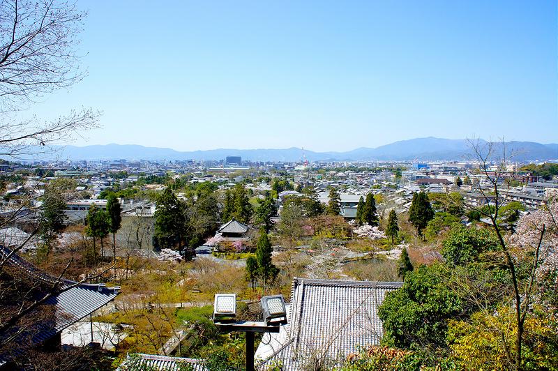 多宝塔からの景色/永観堂 禅林寺(Eikando, Zenrin-ji Temple / Kyoto City) 2015/04/02