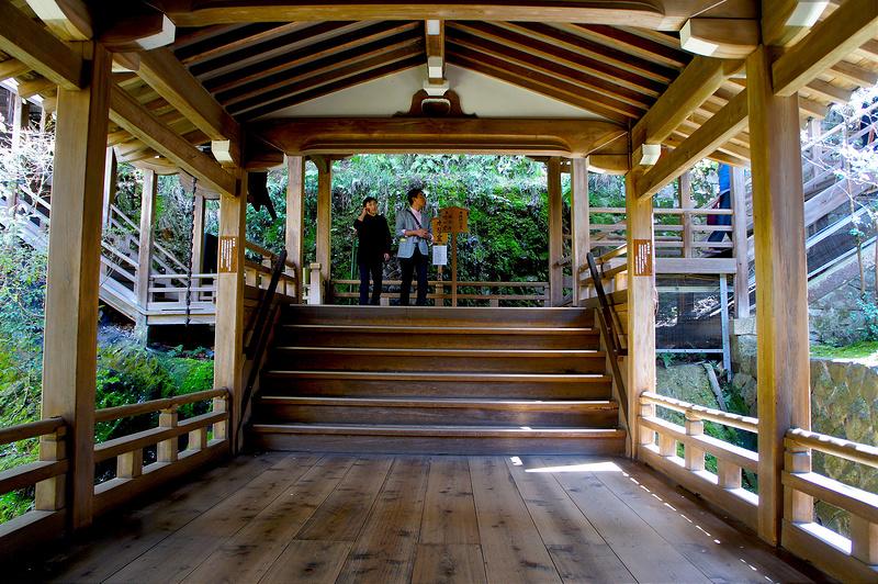 阿弥陀堂・開山堂へ向かう左右の階段/永観堂 禅林寺(Eikando, Zenrin-ji Temple / Kyoto City) 2015/04/02
