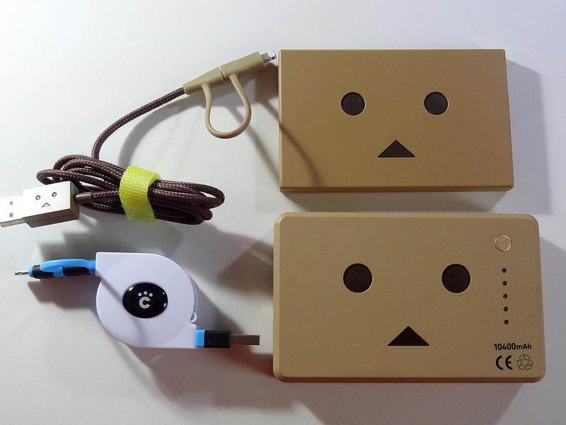 cheero 2in1 Retractable USB Cable