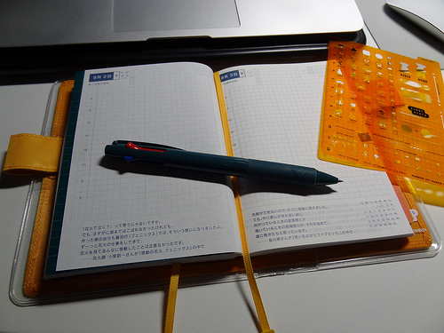 ほぼ日手帳2012