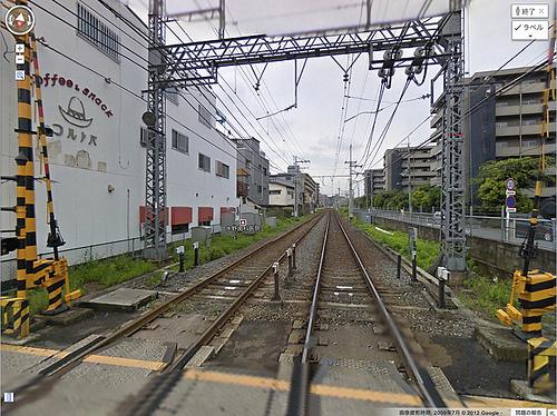 京阪木幡駅(普段の風景)