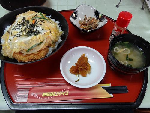 池田湖パラダイス 黒豚カツ丼