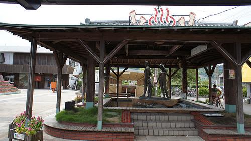 指宿駅の足湯