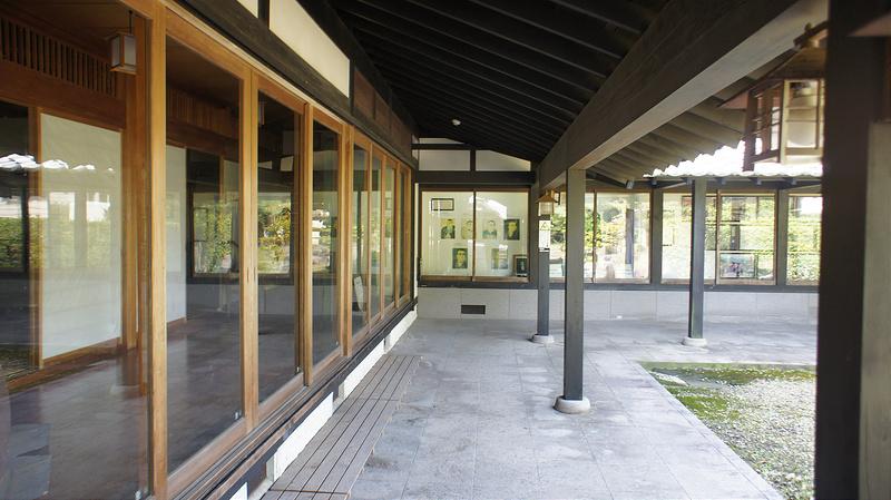 順路 左側の展示スペース