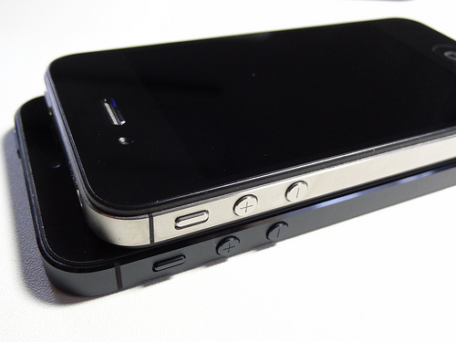iPhone4SとiPhone5