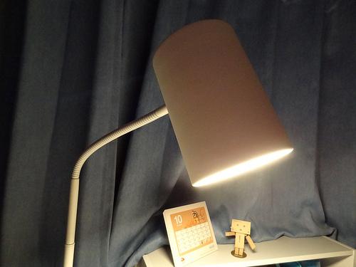 ニトリ フロアランプ(10192C-WH)