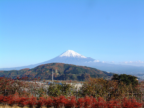 富士山(2001/12月撮影)