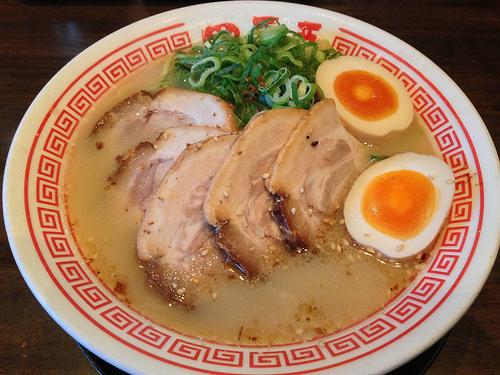 ラーメン四天王 塩チャーシュー麺