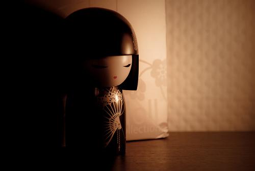 Photo:Insane Kokeshi Doll By:Insane Focus