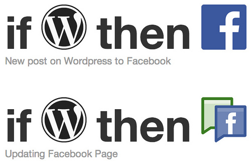 IFTTT WP-Facebook
